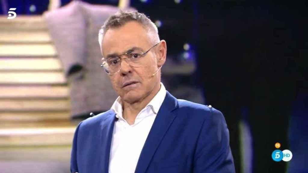 Jordi González sustituyendo a Jorge Javier en 'GH DÚO'.