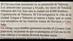 En esta edición, una hija del Cid se caso con miembros de la familia real de Cataluña.