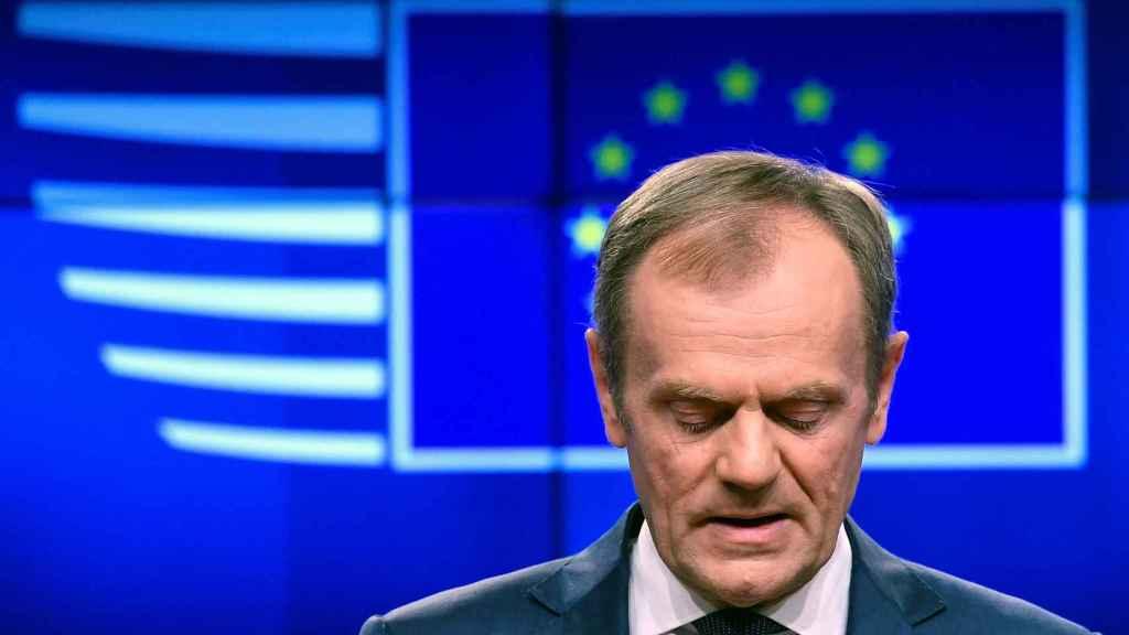 El presidente del Consejo Europeo, Donald Tusk, aún sueña con que el 'brexit' se cancele