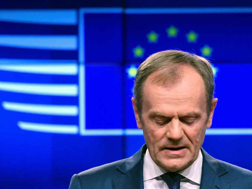 El presidente del Consejo Europeo, Donald Tusk, lanza un ultimátum a Londres