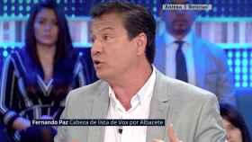 Fernando Paz en Espejo Público.