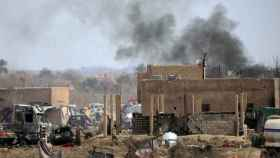 Al Baguz atacado por las fuerzas kurdas.