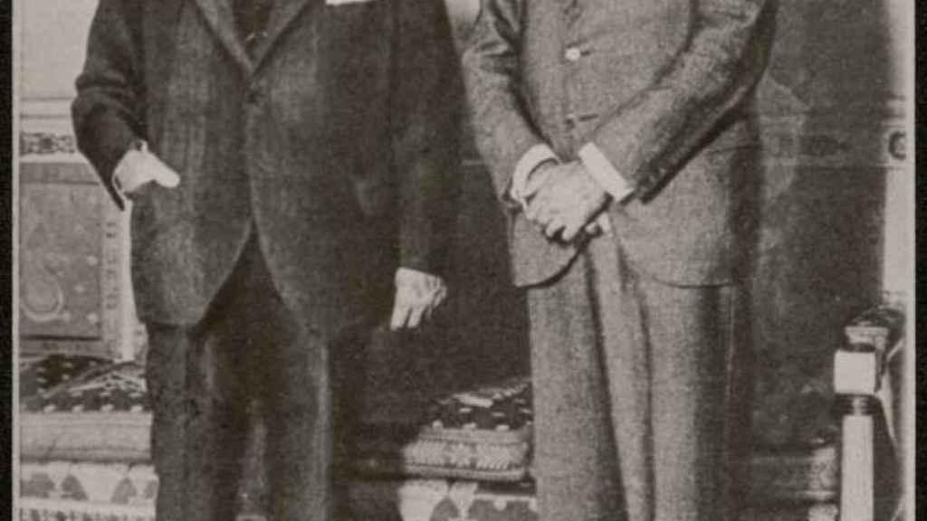 Lerroux y Julián Besteiro.
