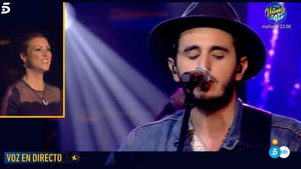 Morat cantando en directo en 'Gran Hermano DÚO'.