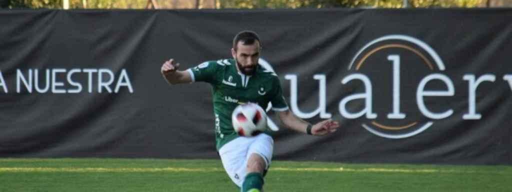 Fernando Albert Chato, durante un partido con el Toledo. Foto: cdtoledo.es
