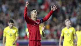 Cristiano Ronaldo en el Portugal - Ucrania