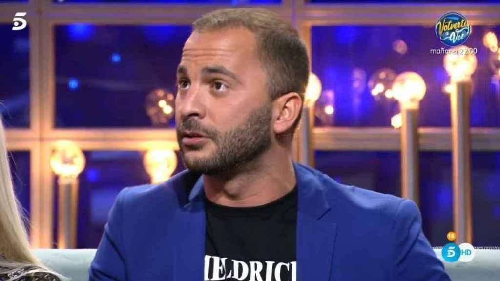Antonio Tejado durante la gala de 'GH DÚO'.