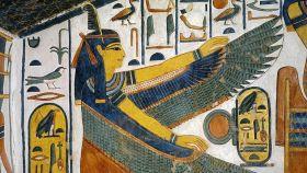 Representación de la diosa egipcia Maat.