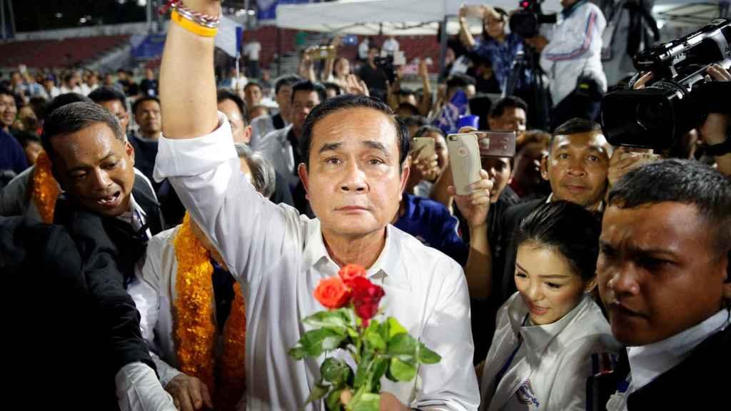 El primer ministro de Tailandia, Prayut Chan-o-cha.