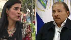 Zoilamérica Narváez y Daniel Ortega.