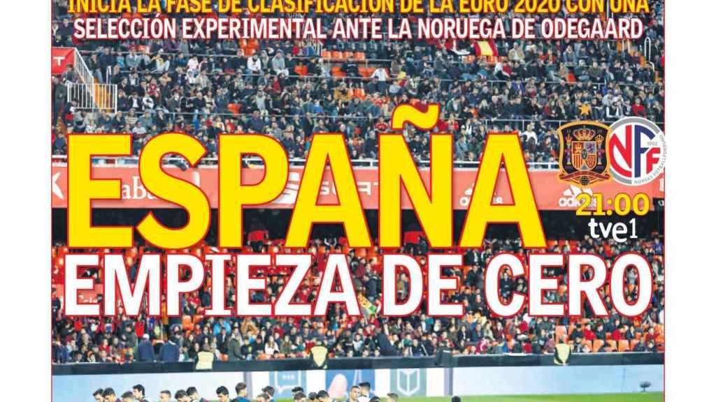 Portada Diario AS (23/03/2019)