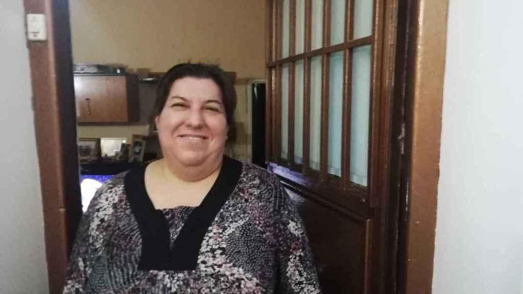 Begoña es la quinta generación de porteras que han trabado en su edificio.
