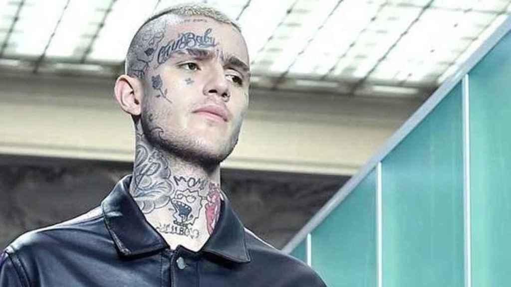 En la imagen, Lil Peep, el rapero norteamericano que falleció por una sobredosis de ansiolíticos.