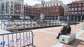 Valladolid-semana-santa-gradas-intalacion-ayuntamiento
