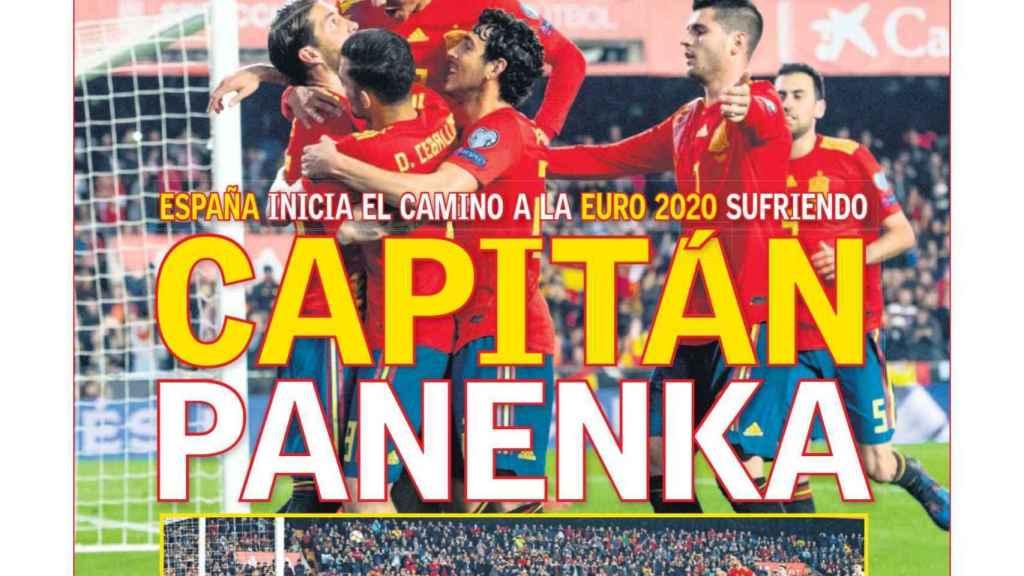 La portada del diario AS (24/03/2019)