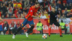 Sergio Ramos marca de Panenka contra Noruega