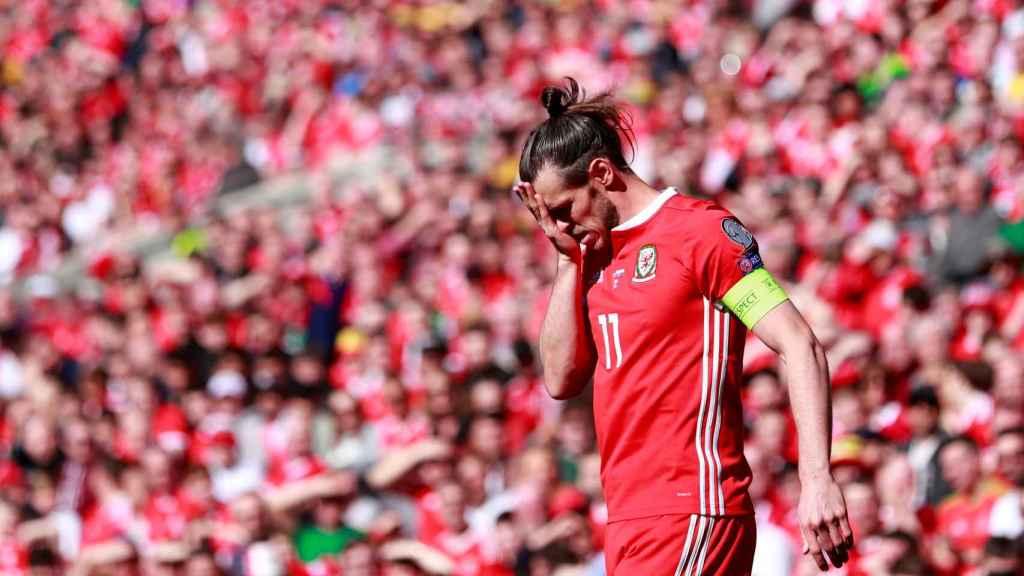 Bale, con la selección de Gales