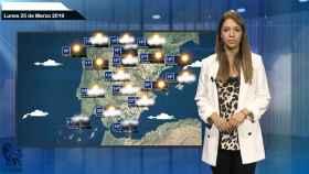 El tiempo: pronóstico para el lunes 25 de marzo
