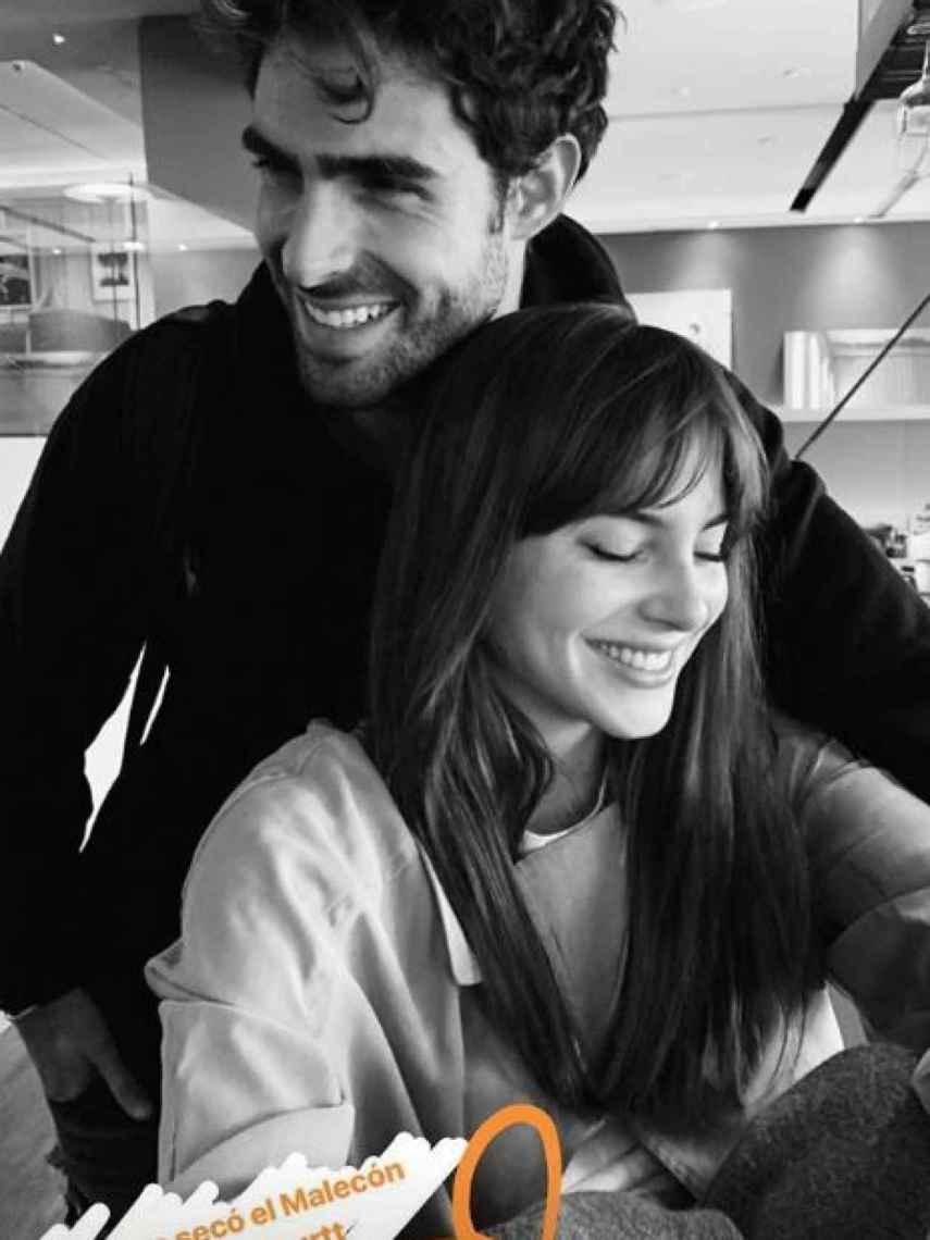Juan Betancourt y Andrea Duro han viajado juntos a París.