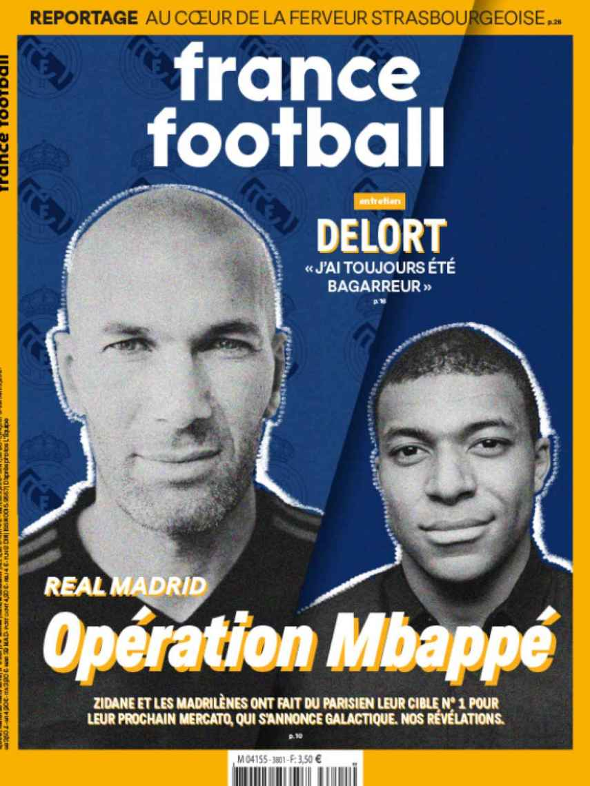 Portada France Football