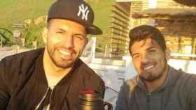 El 'Kun' Agüero y su hermano, Gastón. Foto: Instagram. (@10aguerosergiokun)