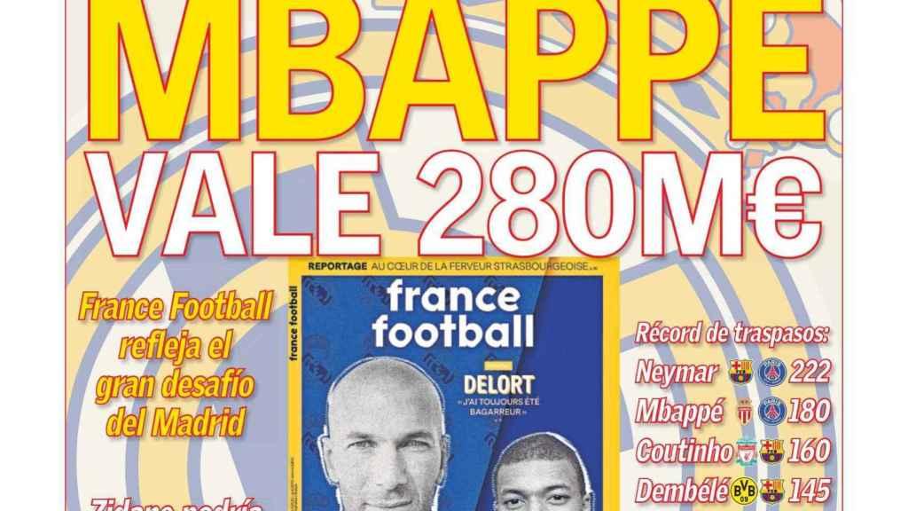 Portada Diario AS (26/03/2019)