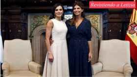 La reina Letizia y Juliana Awada en su duelo estilístico en Buenos Aires.