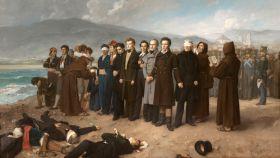 'Fusilamiento de Torrijos y sus compañeros en las playas de Málaga', por Antonio Gisbert