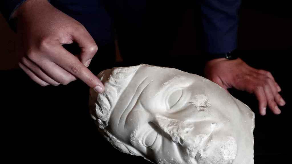 Hallado en Navarra un nuevo retrato del Emperador Augusto