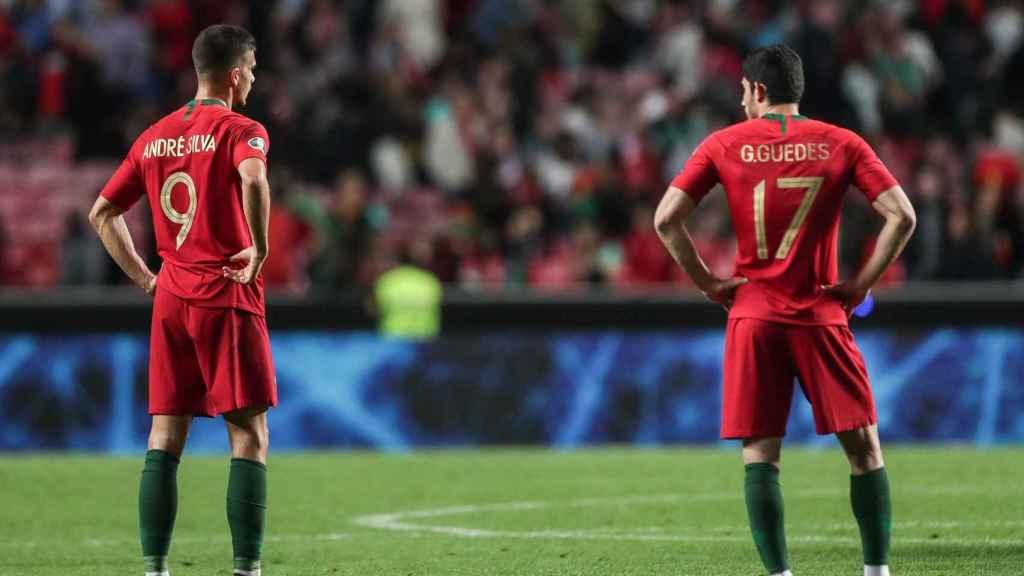 Portugal - Serbia en un partido para la clasificación de la Eurocopa 2020