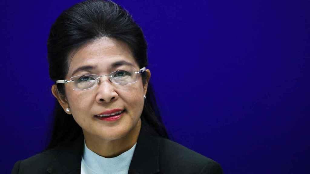 Sudarat Keyuraphan, líder de Puea Thai