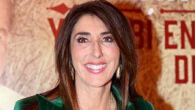 Paz Padilla durante su última salida pública para apoyar el nuevo disco de Bertín Osborne.