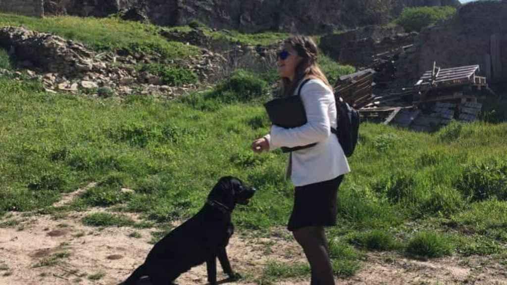 La afición favorita de Liliana es caminar por la montaña del Pirineo Aragonés