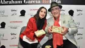 Abraham García y Luz Casal en la presentación de 'ReLata'
