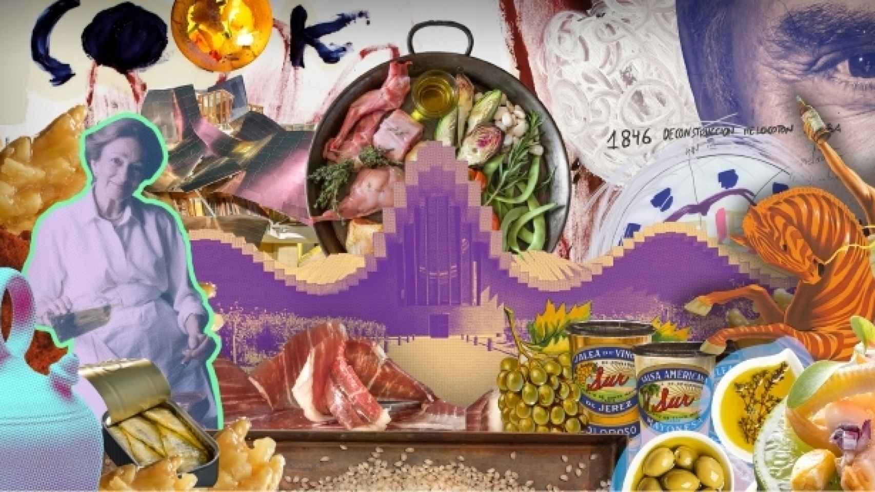 Cartel de 'España: cocina abierta'