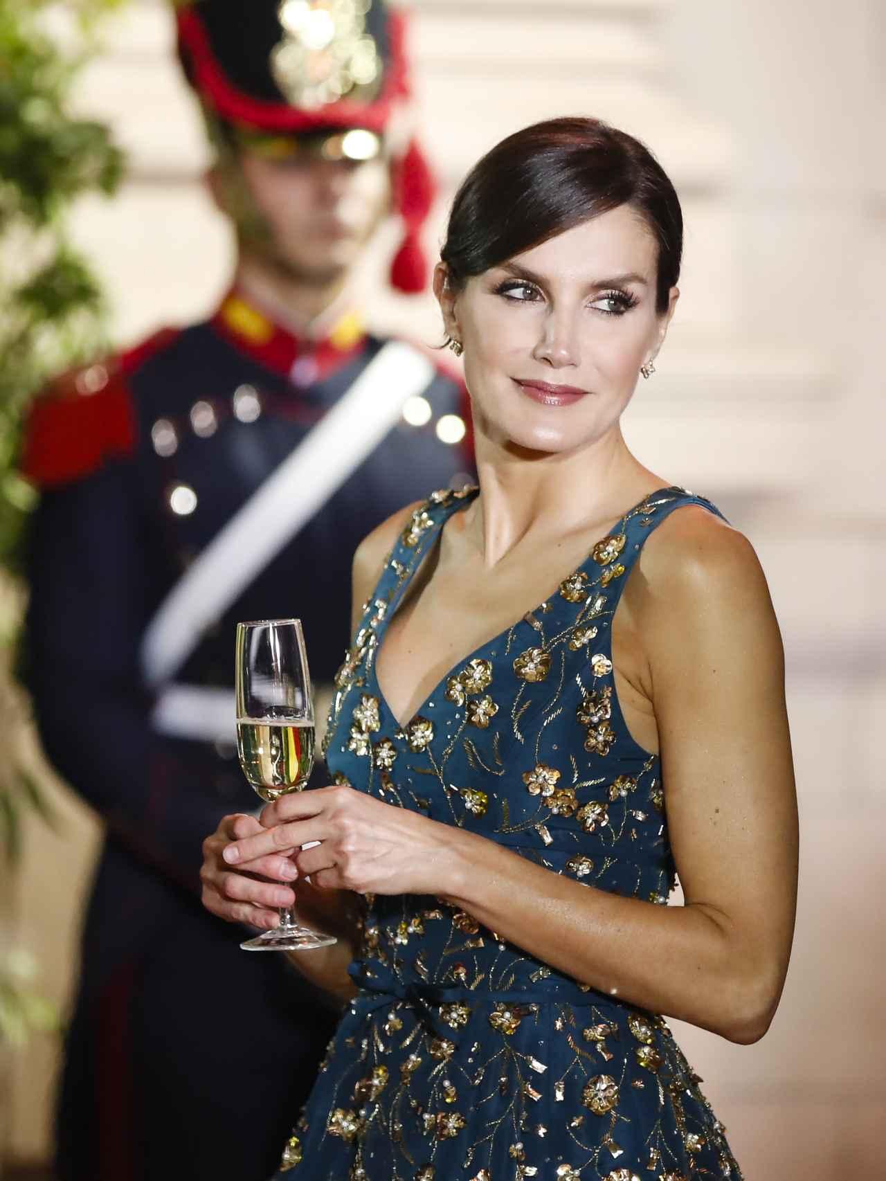 Así Fue La Cena De Gala En Honor A Los Reyes Felipe Y Letizia En Argentina