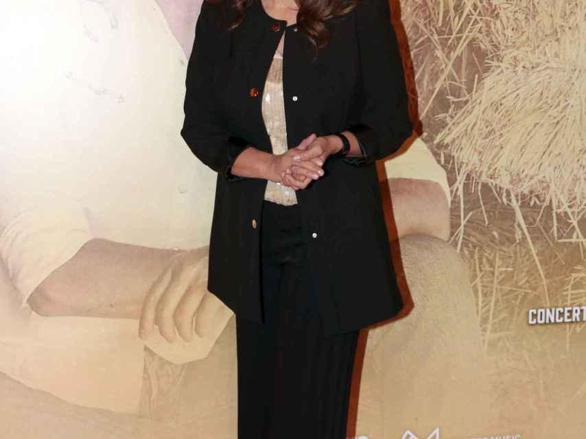 Fabiola Martínez en el concierto de Bertín Osborne.