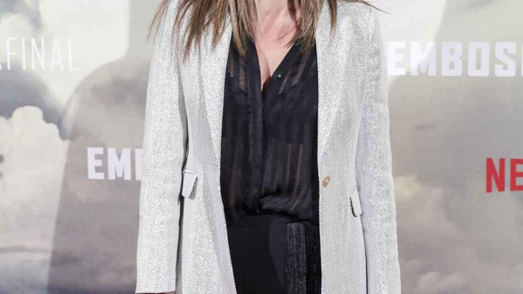 Lorena Gómez en la premier de la película 'Emboscada final'.