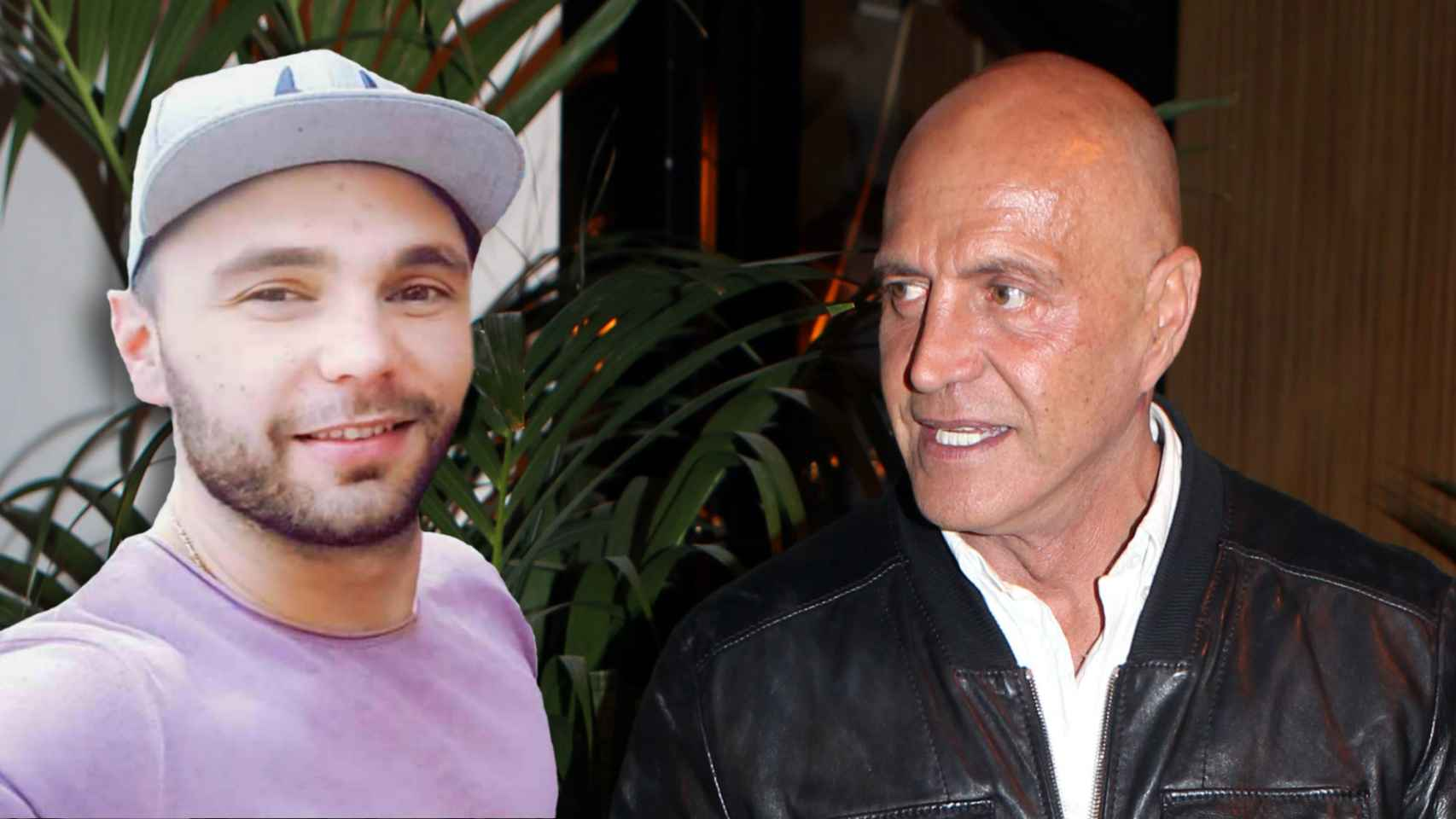 Cristian Suescun y Kiko Matamoros en un montaje de JALEOS.