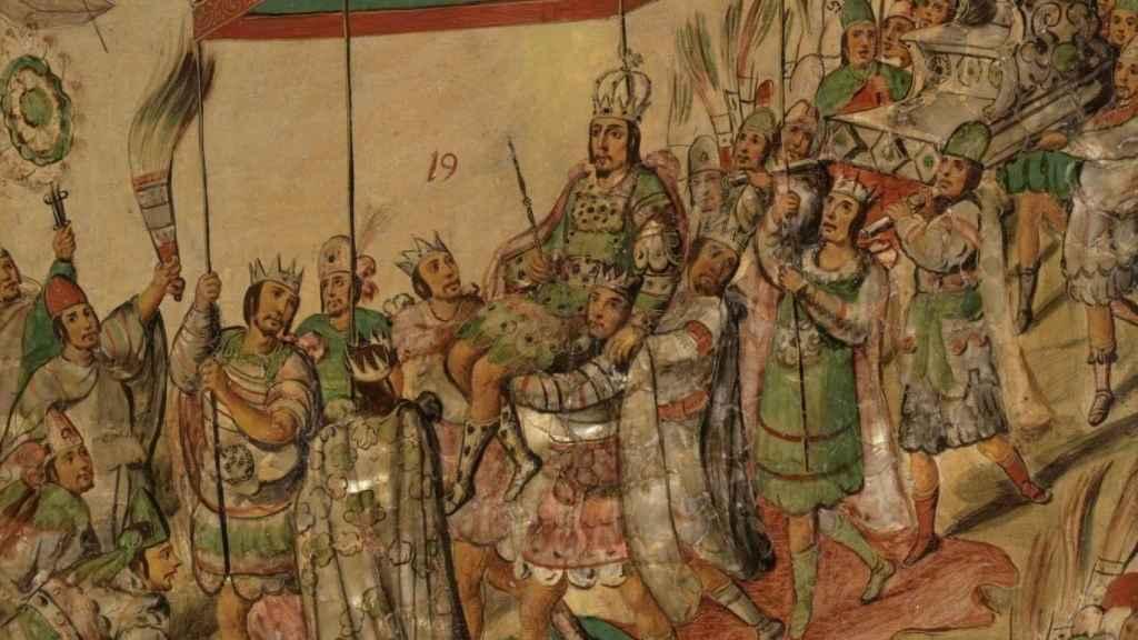 'Conquista de México por Hernán Cortés'