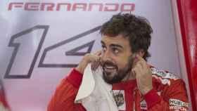 Fernando Alonso, en su etapa con Ferrari