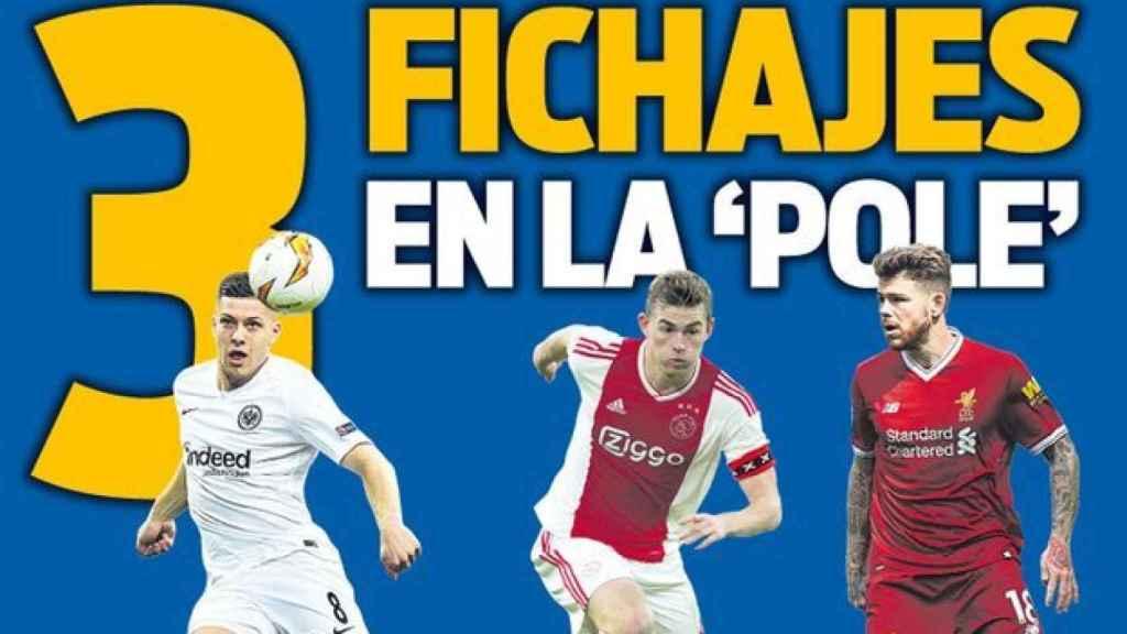 Portada Sport (26/03/19)