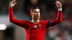 Cristiano Ronaldo, durante un partido de Portugal