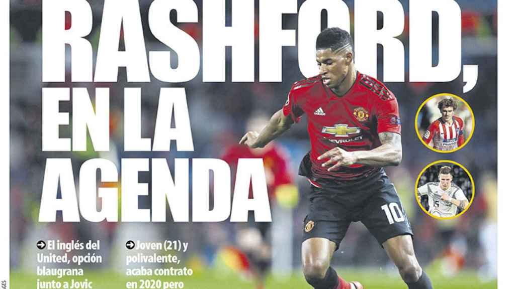 Portada Mundo Deportivo (26/03/19)