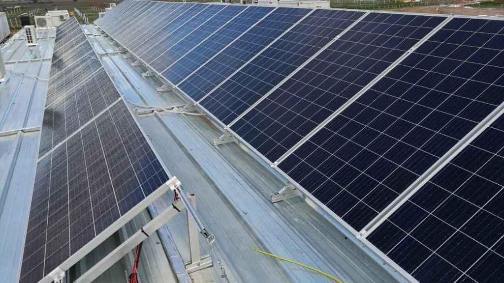 Una de las plantas fotovoltaicas de Endesa.