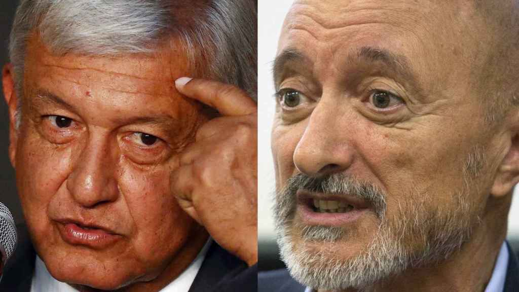 Andrés Manuel López Obrador contra Arturo Pérez-Reverte.