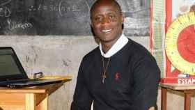 Peter Tabichi, galardonado con 'el Nobel de la educación'. Foto: Fundación Varkey