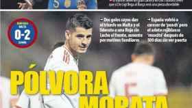 La portada del diario Mundo Deportivo (27/03/2019)