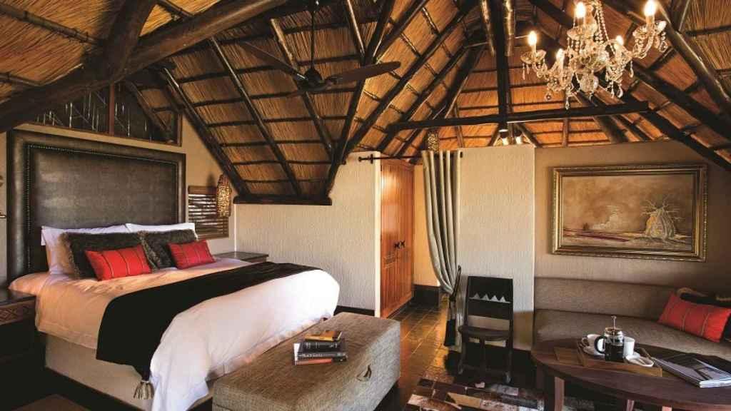 La habitación donde Elena Tablada y Javier Ungría están celebrando su luna de miel.
