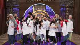 Los quince concursantes de 'MasterChef 7'.
